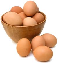 misa s vajciami