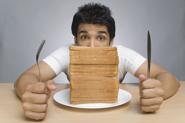 muž a chlieb