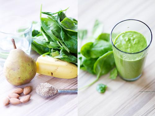 Zelený nápoj na chudnutie: recept